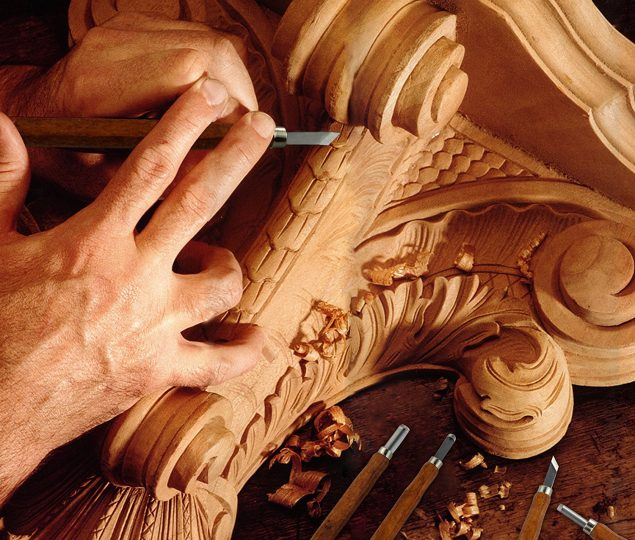 hand carved furniture VALUES